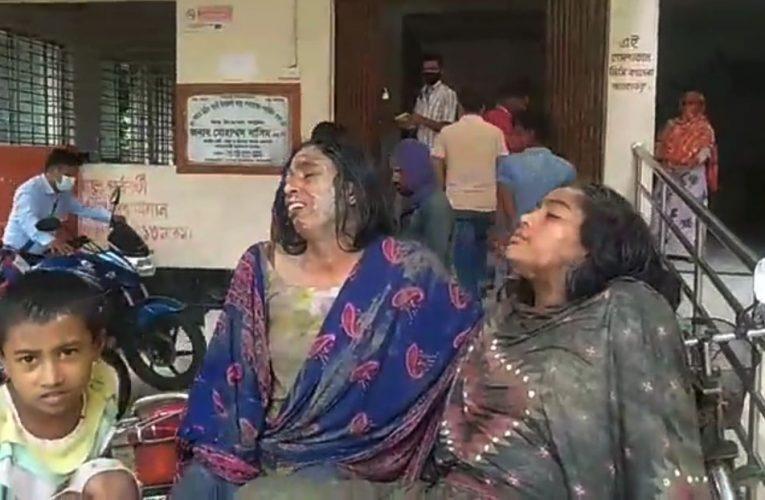 গাংনীতে প্রতিপক্ষের হামলায় মা মেয়েসহ তিনজন আহত