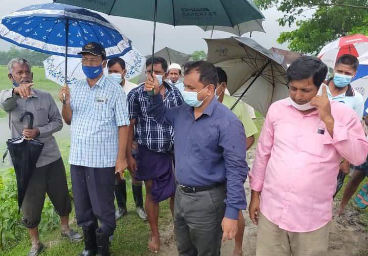 কলাপাড়ায় অবৈধ ভাবে দখল করা সরকারি খাল দখল মুক্ত করেন ইউএনও