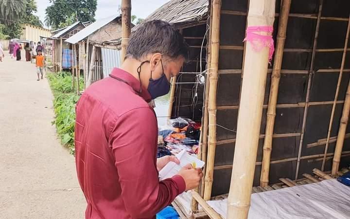 আজমিরীগঞ্জে জনকে ৭০০ টাকা জরিমানা
