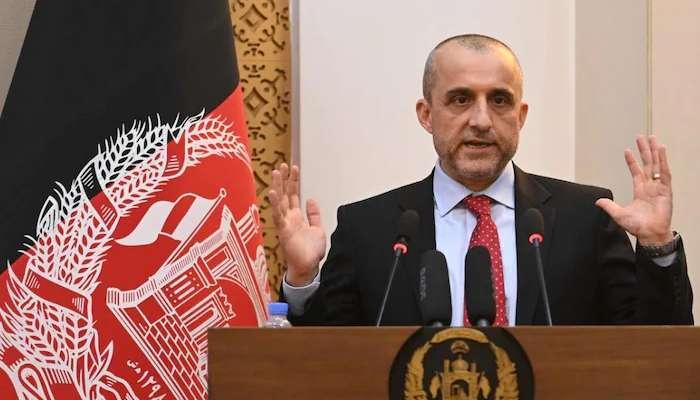 আফগানিস্তান দখল করেছে পাকিস্তান: আমরুল্লাহ সালেহ